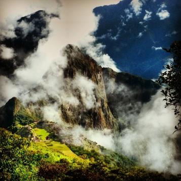View from Montana Machu Picchu