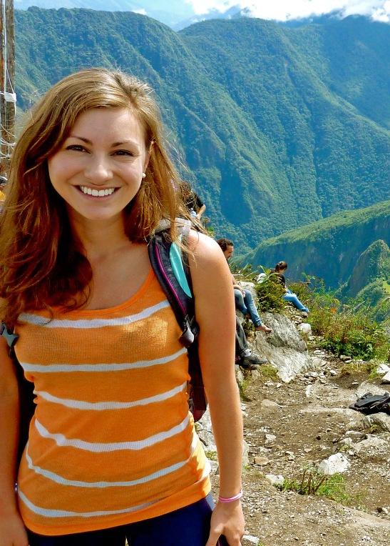 Sukee at Machu Picchu